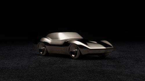 Corvette C3 Sculpture