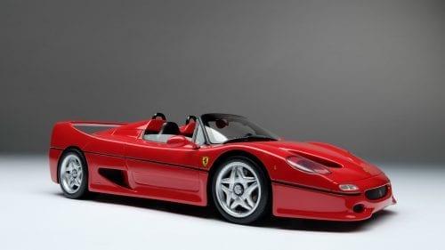 Amalgam 1:18 Ferrari F50