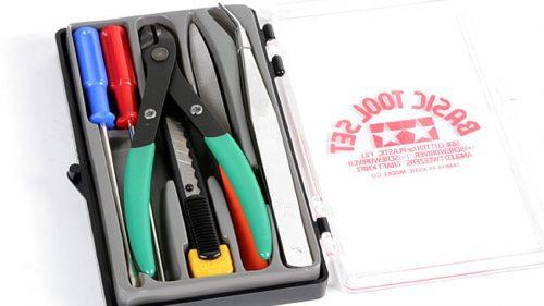 Tamiya Basic Tool Set 74016