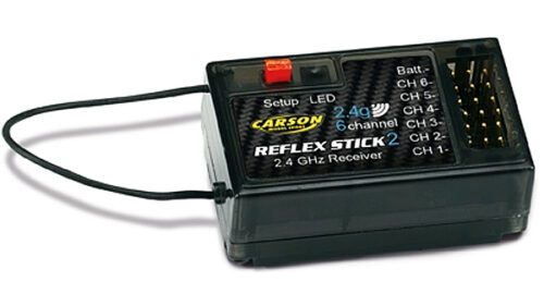Carson 6-Channel Receiver Reflex 2 C501537